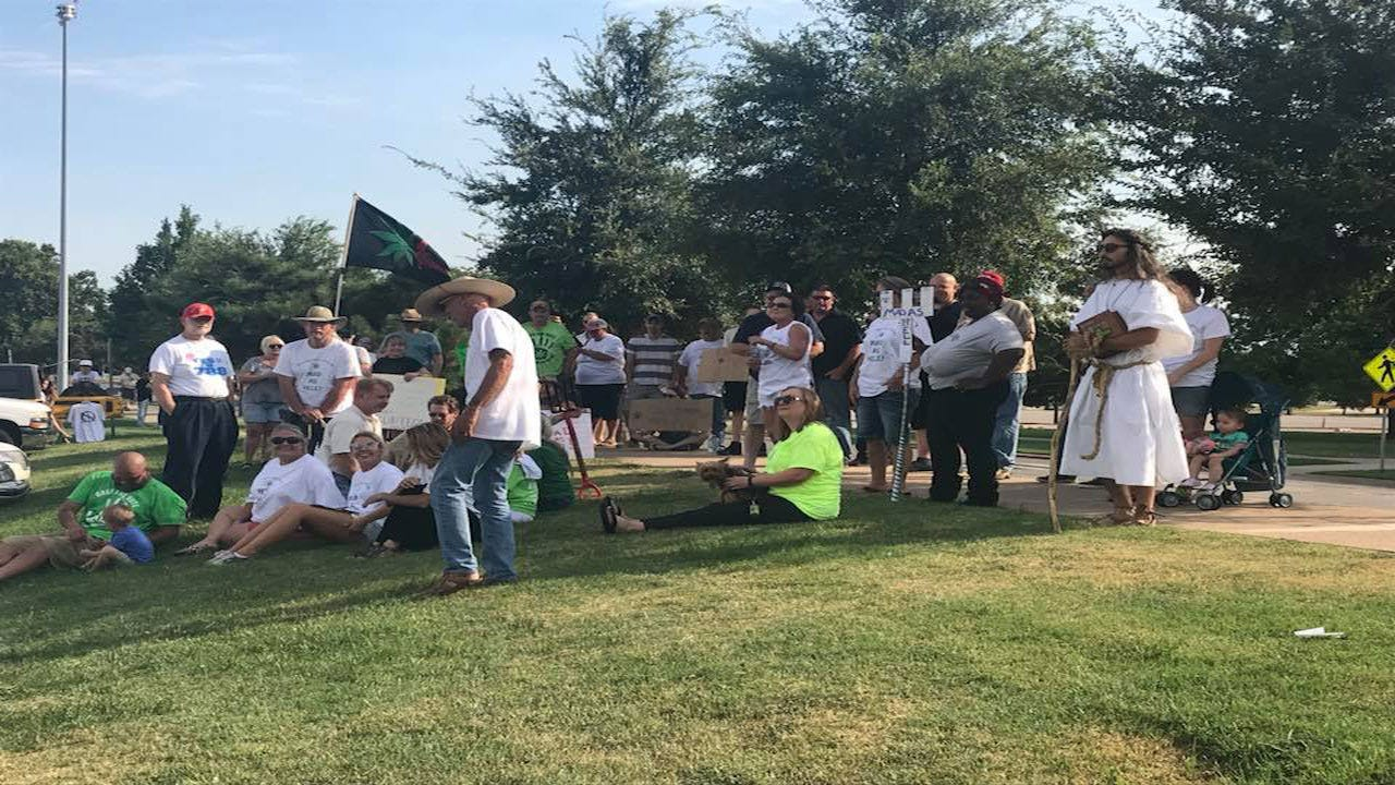 Cannabis Advocates Rally At State Capitol