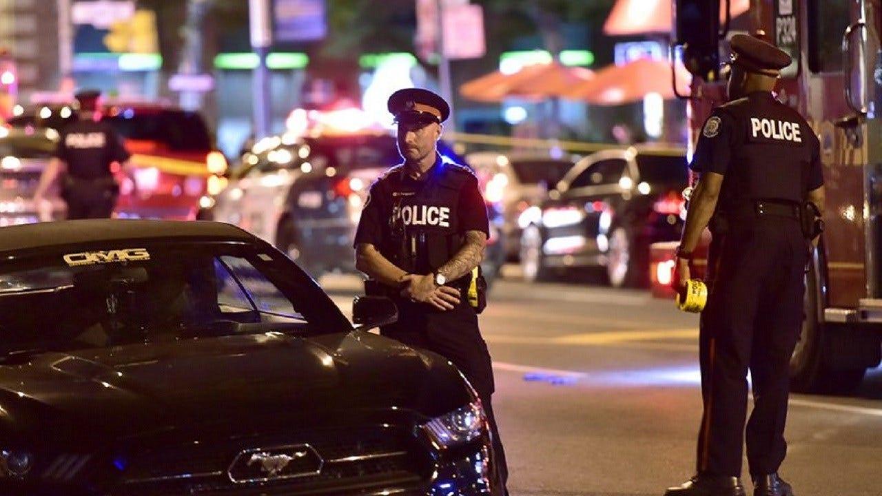 Man Firing Into Toronto Cafes Shoots 14, Killing 2