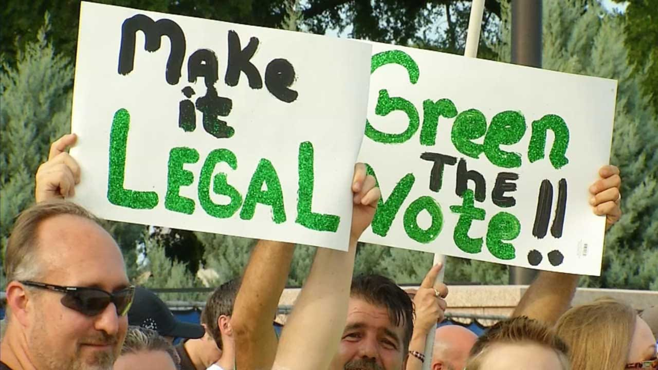 Volunteers Continue To Collect Signatures For Recreational Marijuana
