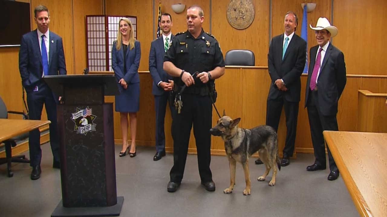 Oklahoma Co. Sheriff's Office Introduces New Jail Contraband K-9