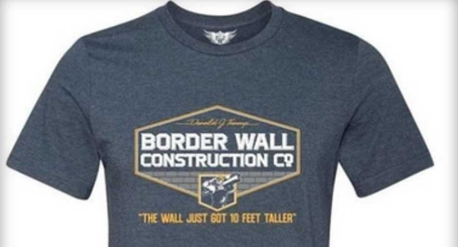 Student Disciplined For 'Trump Border Wall' Shirt To Get $25K