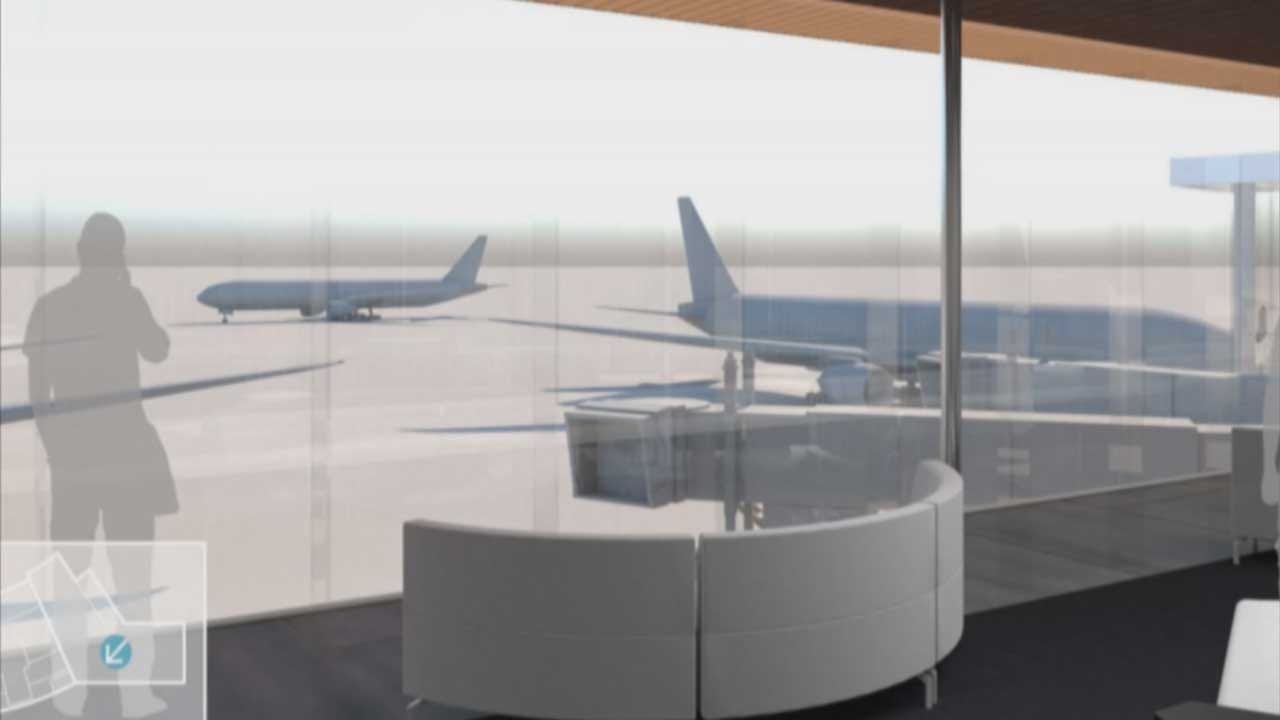 Officials Announce Expansion Plans For Will Rogers Airport