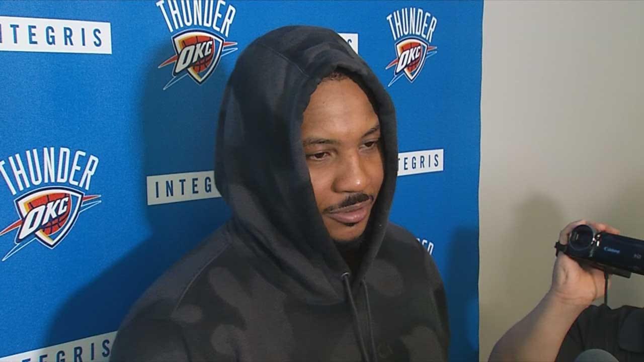 Reports: Oklahoma City Thunder, Carmelo Anthony Will Part Ways