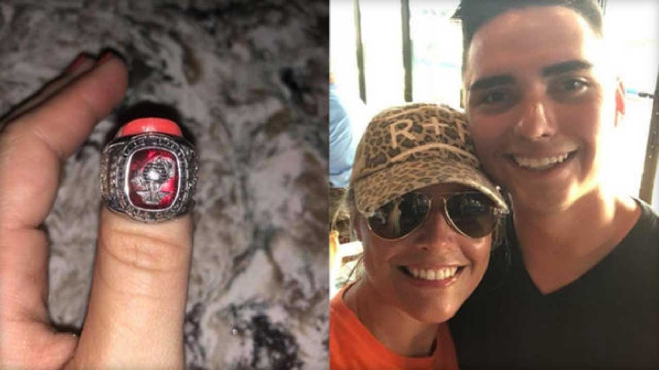 Woman Finds Marine's Ring On Beach, Tracks Down Owner After Post Goes Viral