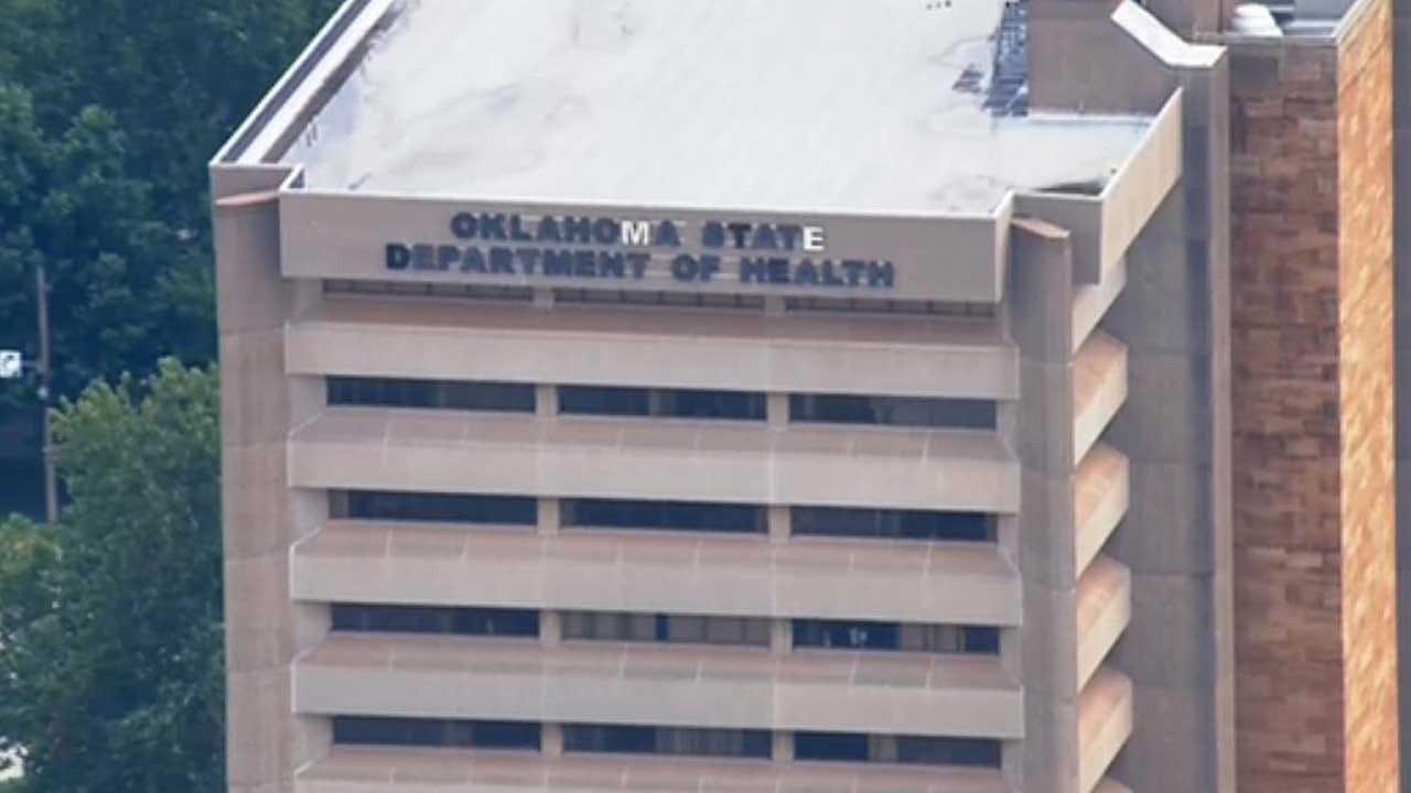 First Responders Investigate Suspicious Material At OSDH