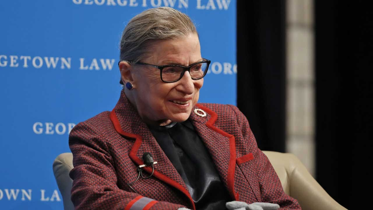 Justice Ginsburg Has Surgery To Remove Cancerous Growths