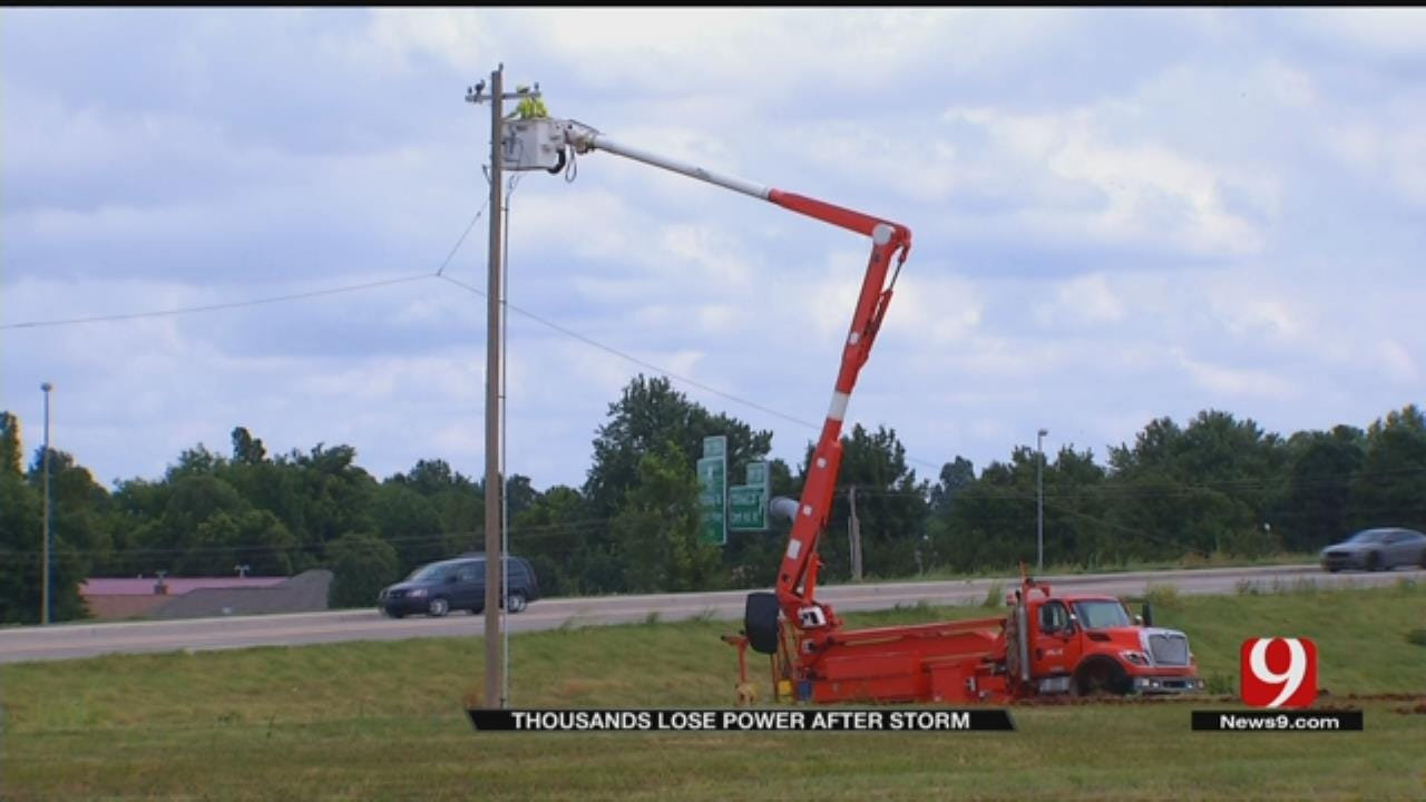 Metro Businesses, Homes Spend Day Without Power After Powerful Storm