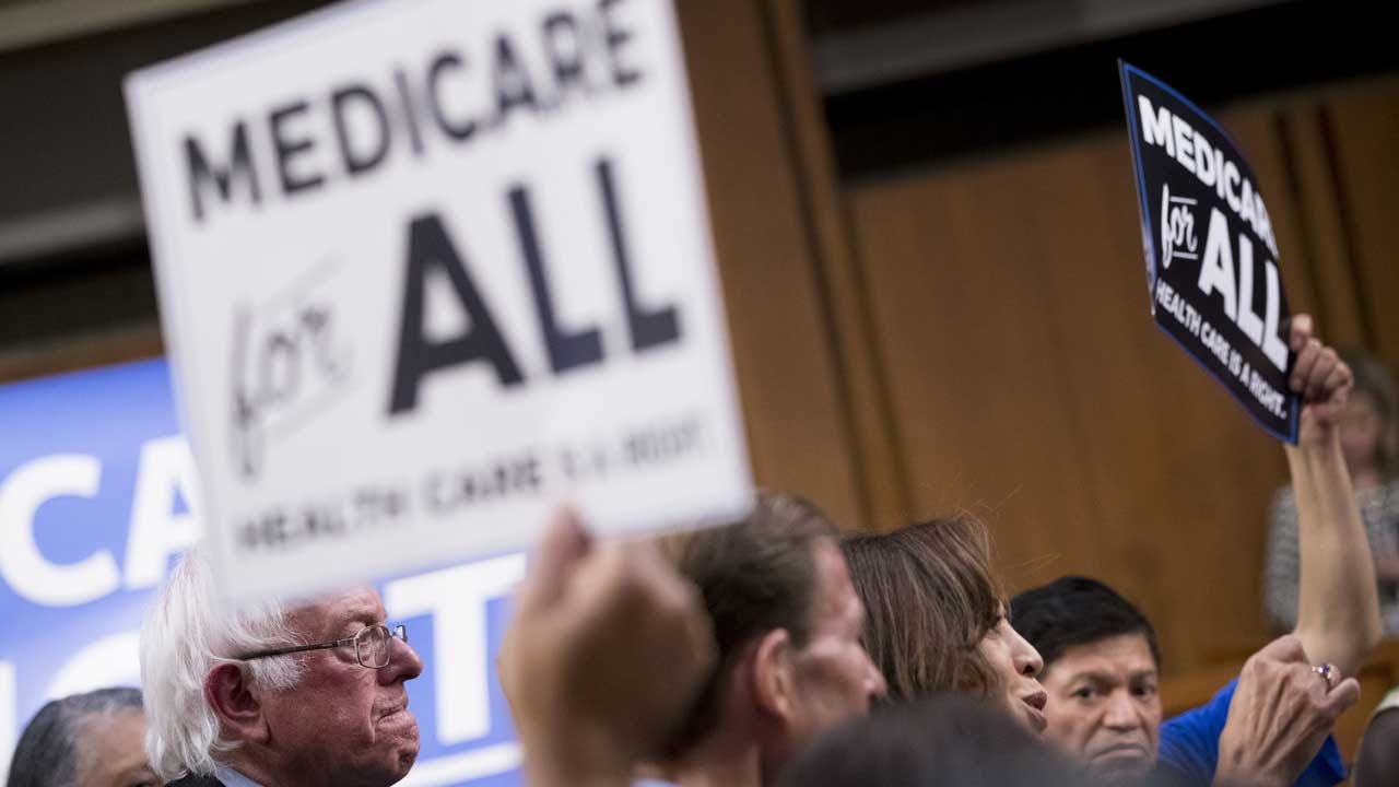 Study: 'Medicare For All' Plan Touted By Bernie Sanders Would Cost $32.6 Trillion
