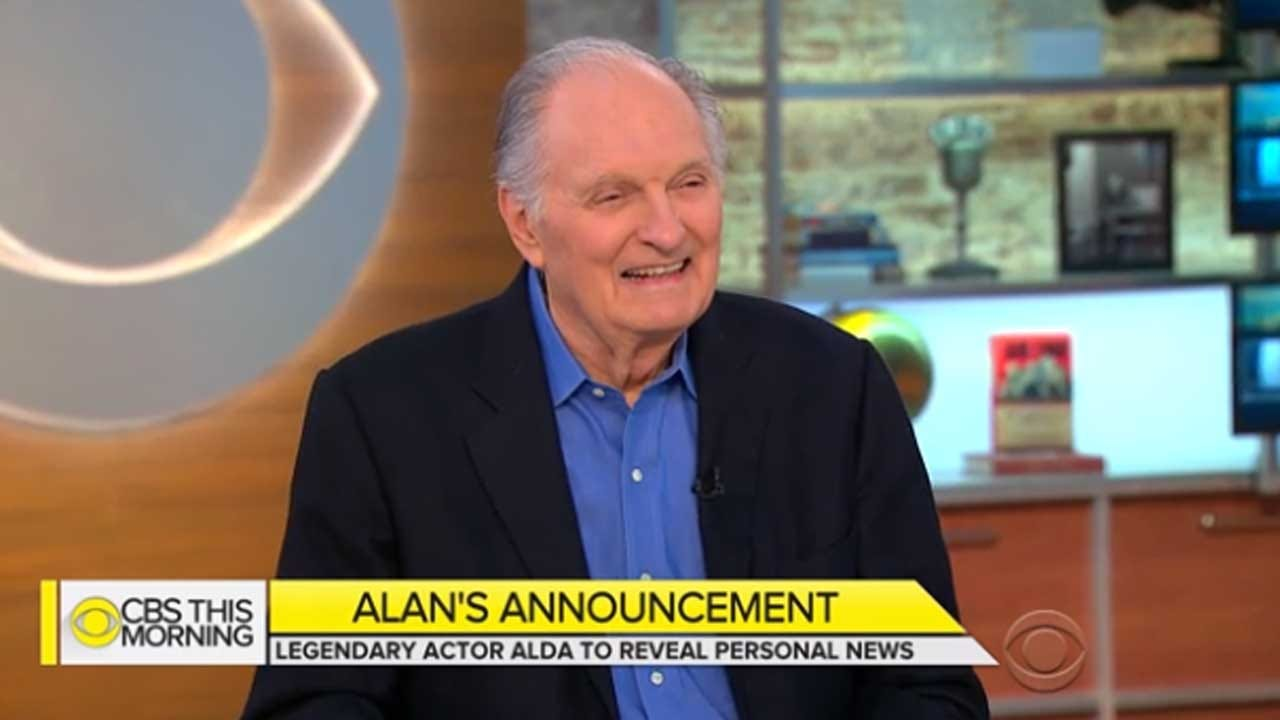 Alan Alda Reveals He Has Parkinson's Disease: 'I'm Not Angry'