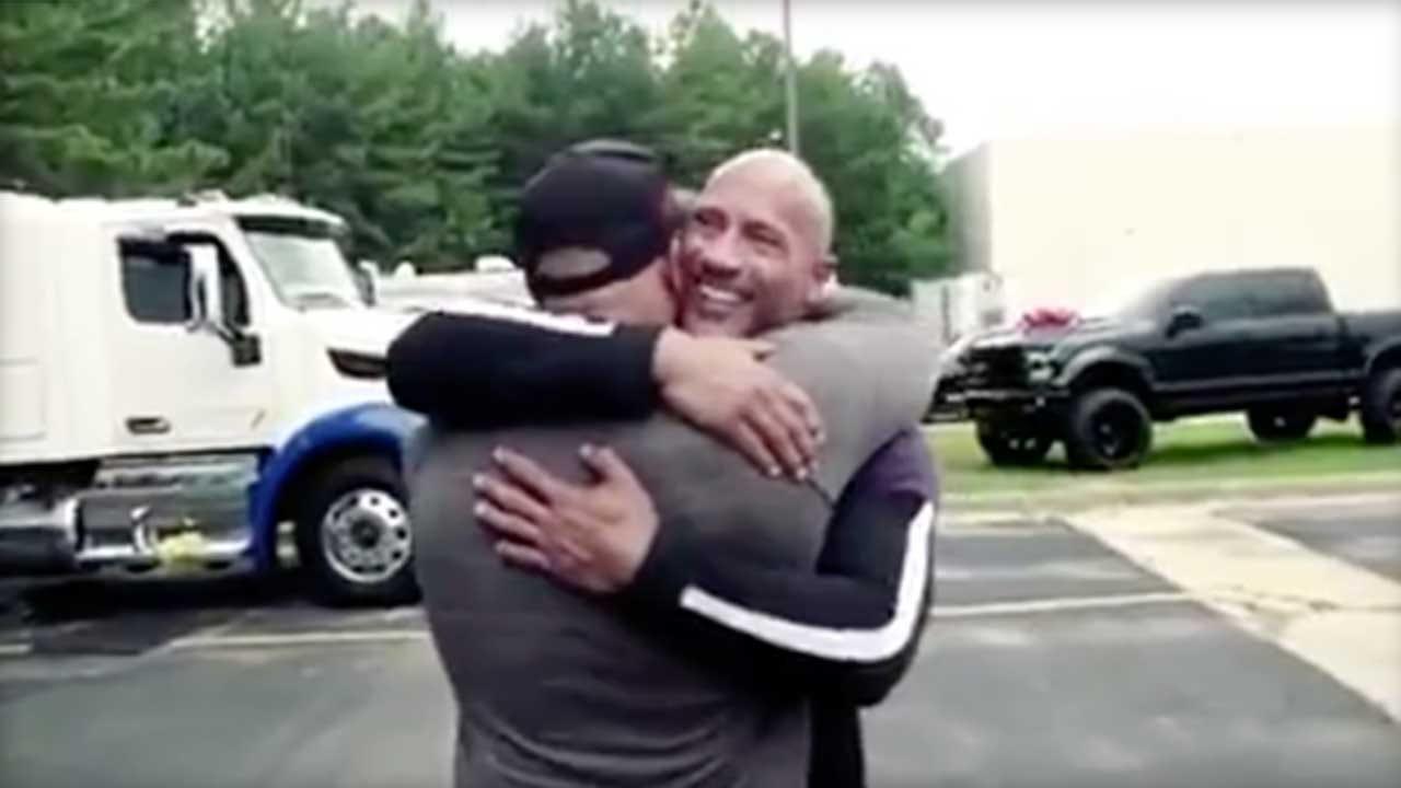 Dwayne 'The Rock' Johnson Surprises Stunt Double With Major Gift