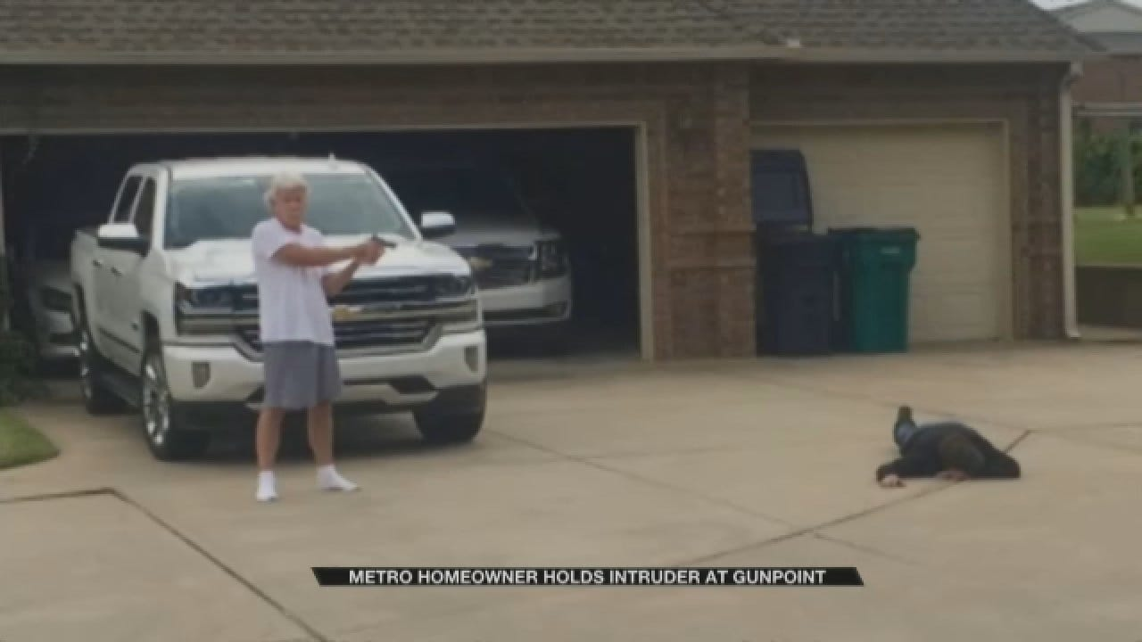 Metro Homeowner Holds Intruder At Gunpoint