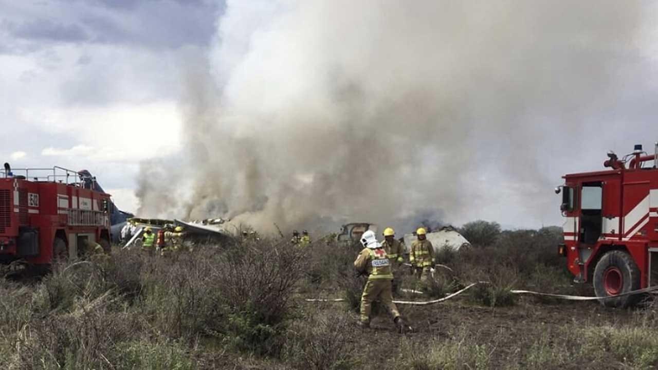 Mexico Governor Says 'No Fatalities' In Crash