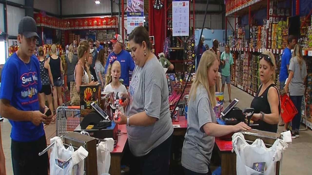 Fireworks Stand Raking In Money For Teachers In Stillwater