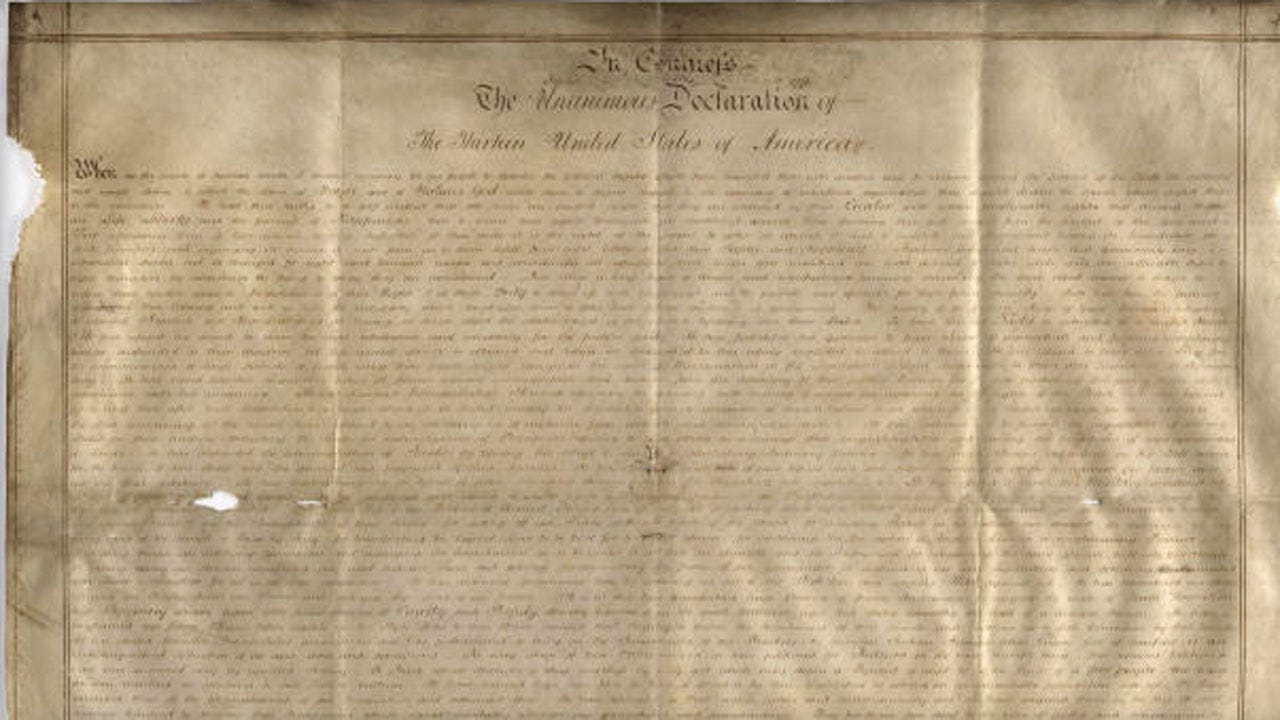Facebook Thought Declaration Of Independence Quotes Were Hate Speech