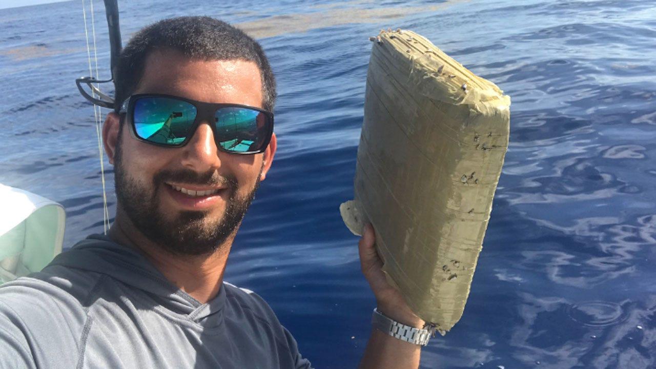 Fisherman Catches Brick Of Marijuana Off Coast Of Florida