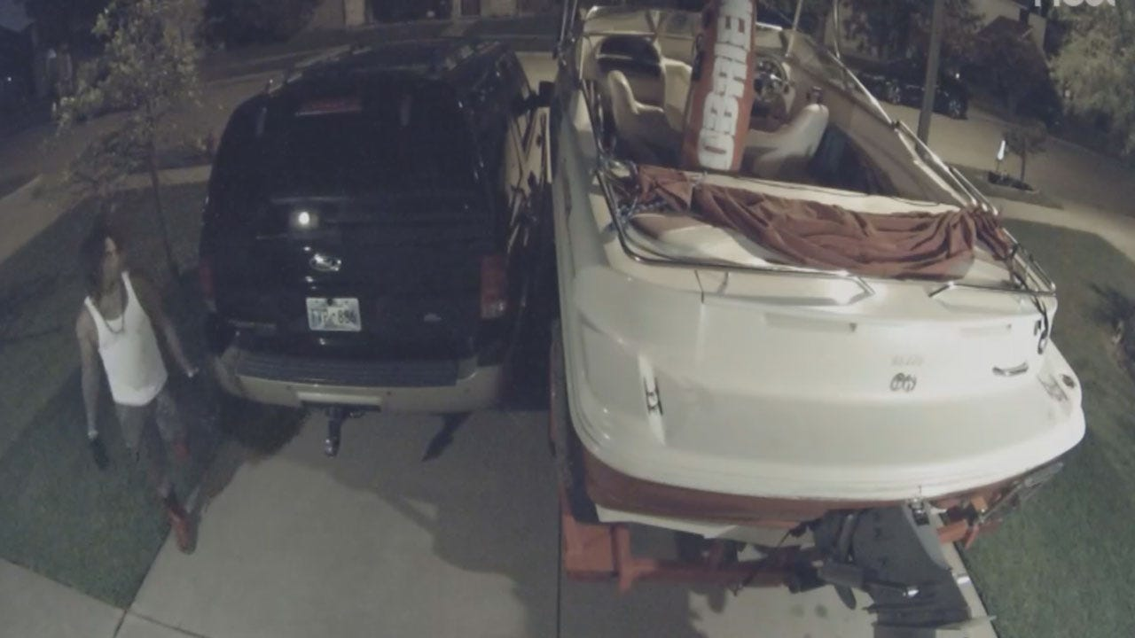 Several Moore Cars Targeted By Burglar