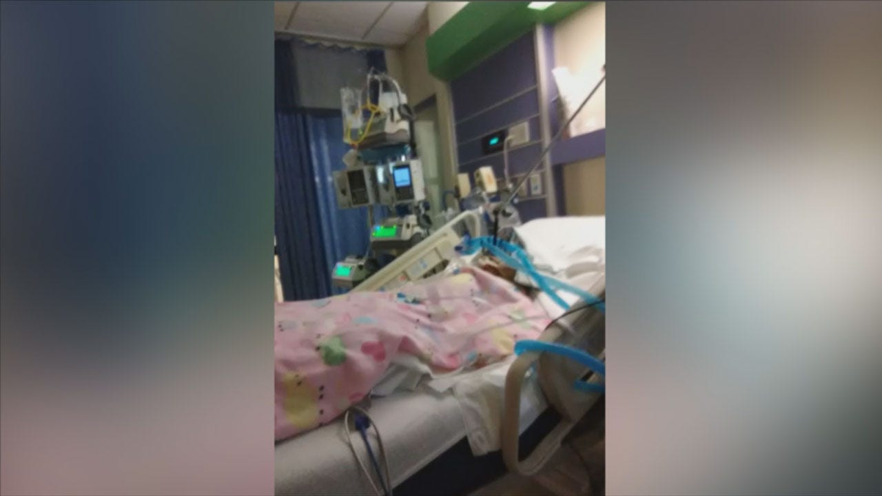 3-Year-Old Girl Fighting To Recover From Burns
