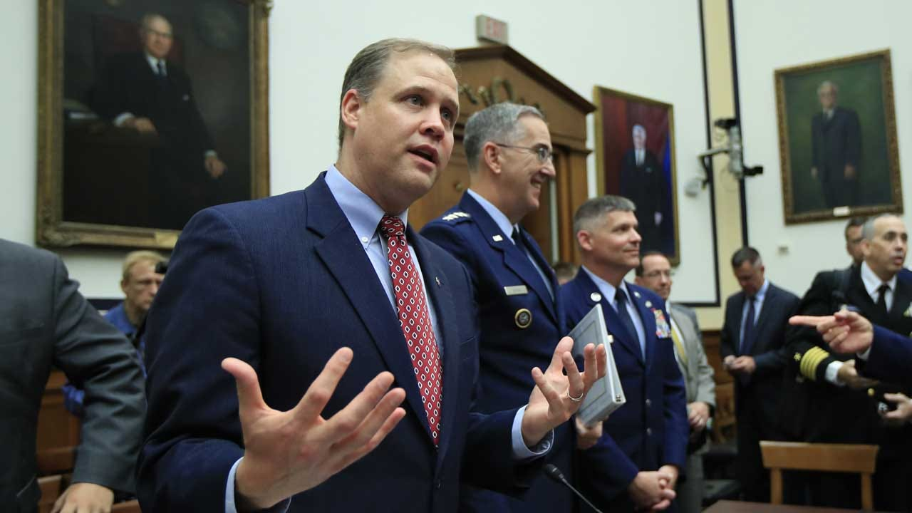 NASA Chief Explains The Need For A 'Space Force'