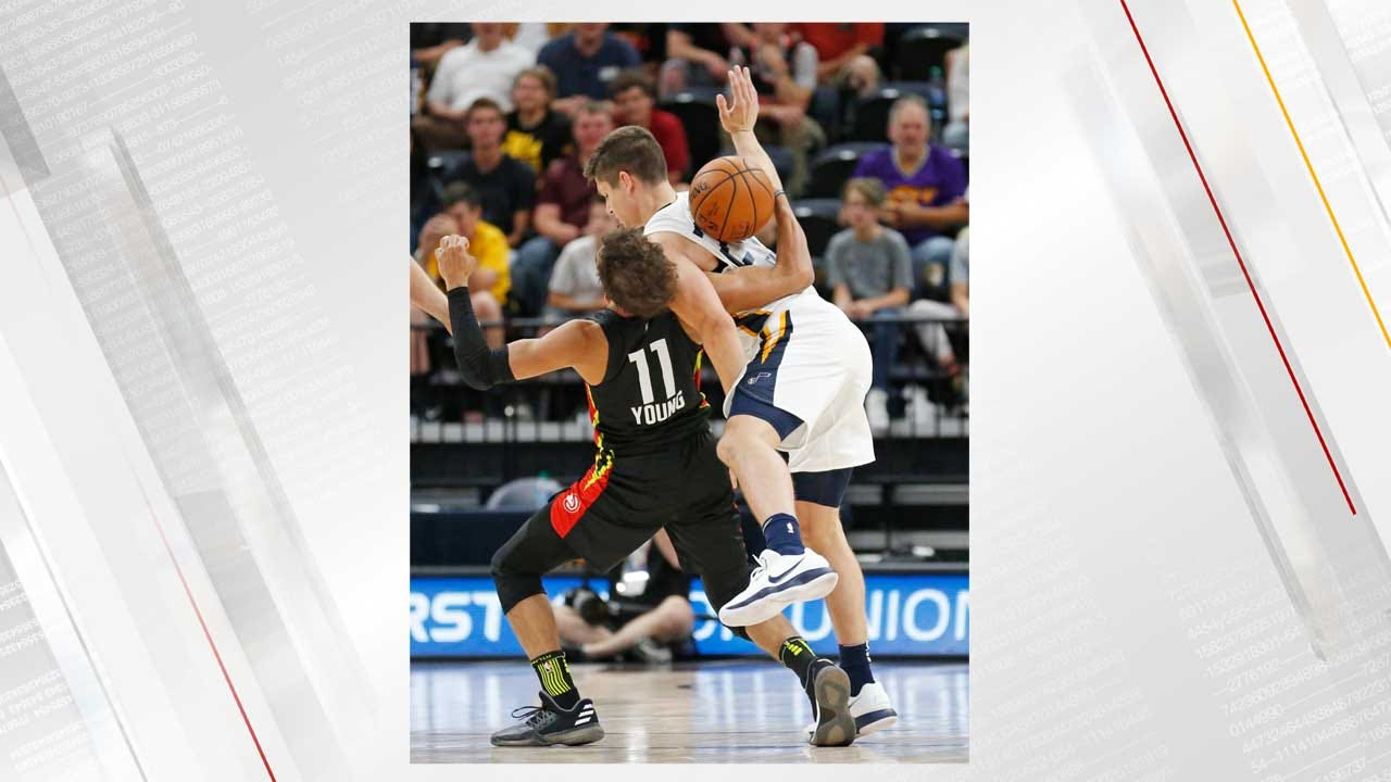 NBA Summer League: Trae Young Gets Into Physical Altercation With Utah's Grayson Allen