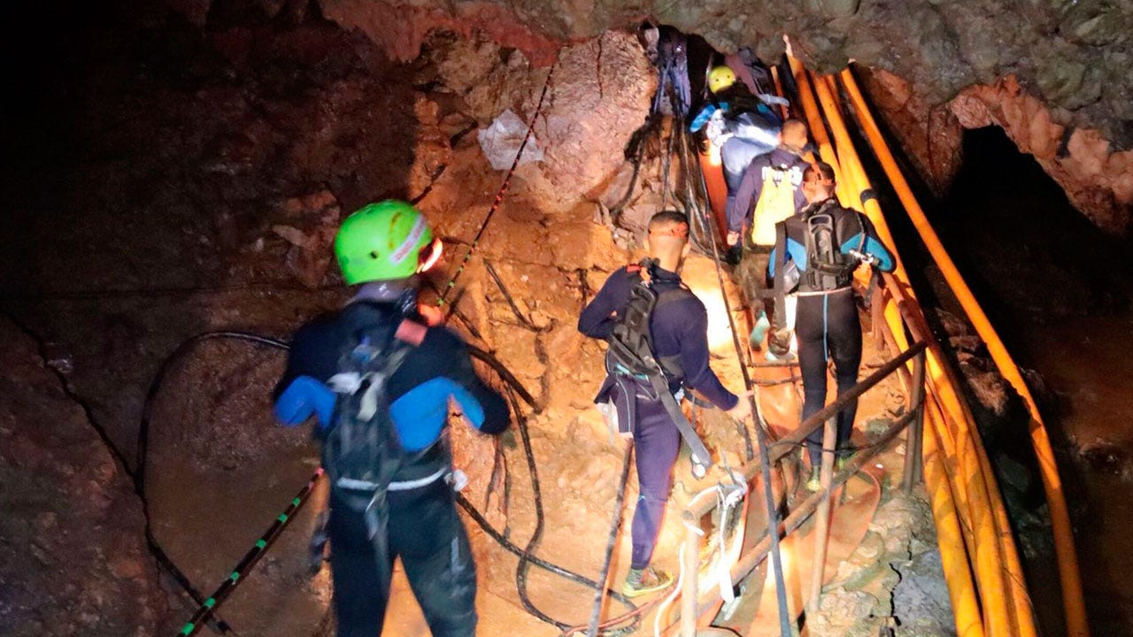 8th Boy Rescued From Thai Cave In Second Rescue Operation
