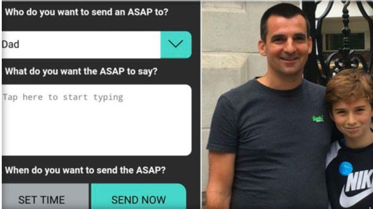 Dad Creates App That Freezes Your Kids' Phones Until They Answer Your Texts