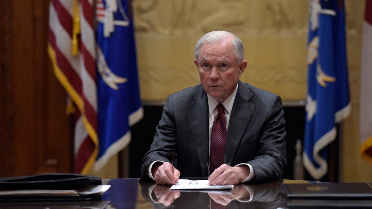 Trump Blasts Sessions Over Indictments Of GOP Congressmen Ahead Of Midterms
