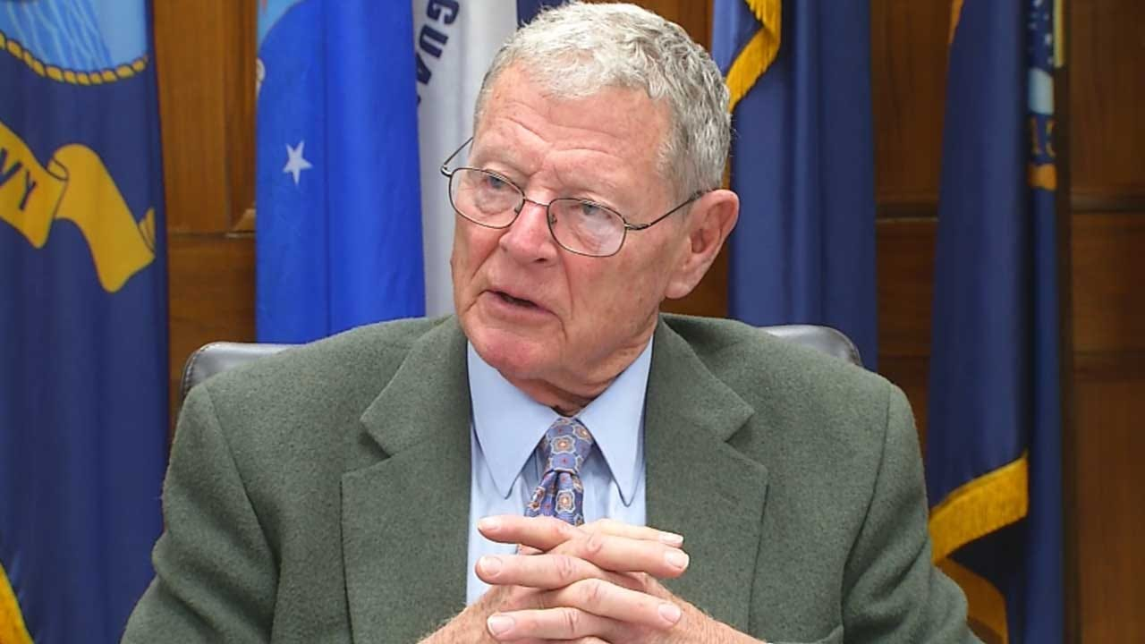 Sen. Inhofe Missed Swearing In For Impeachment Trial On Thursday Due To Wife's Stroke