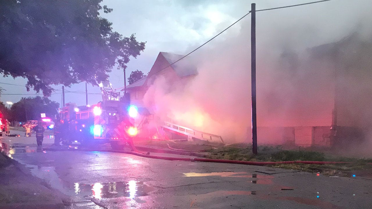 Fatality Reported In Large Commercial Fire In Downtown OKC