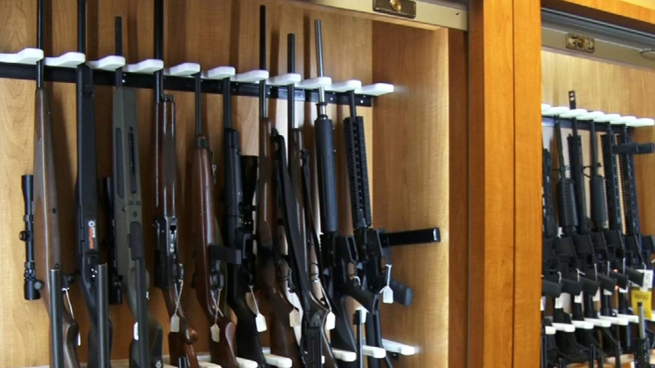 AP: Partisan Divide Over Gun Laws Continues In Most States