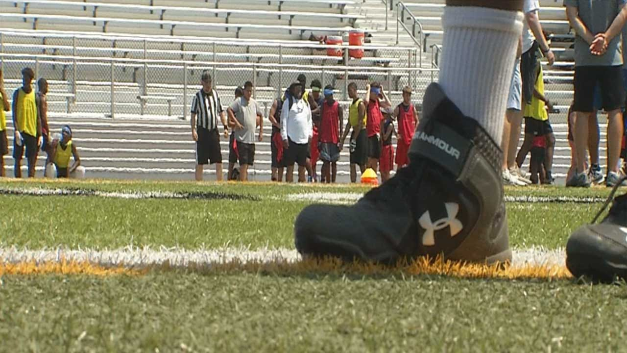 Under Armour Makes Big Donation To 'Cleats For Kids' In Oklahoma