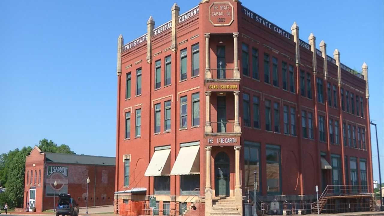 Historic Guthrie Landmark Gets New Lease On Life
