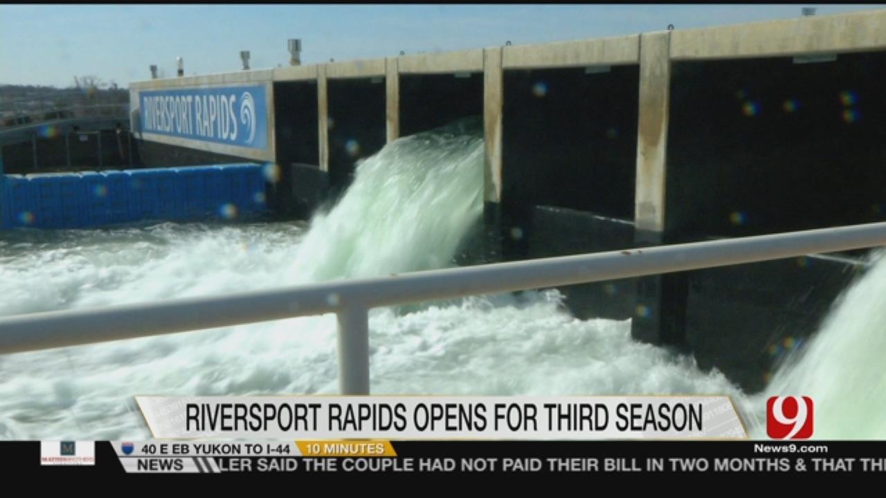 Riversport Rapids Set To Open Third Season On Saturday
