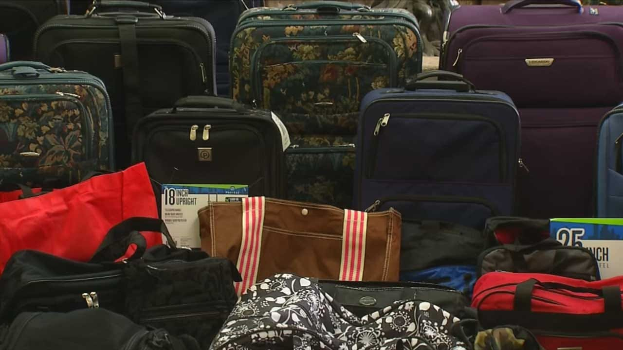 Cushing Hospital Surprises Foster Children With Suitcases