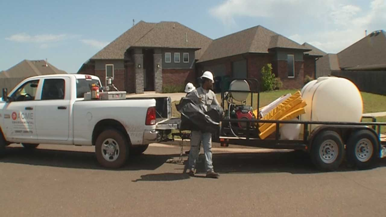 Cleanup Continues After Crude Oil Leak In NW OKC