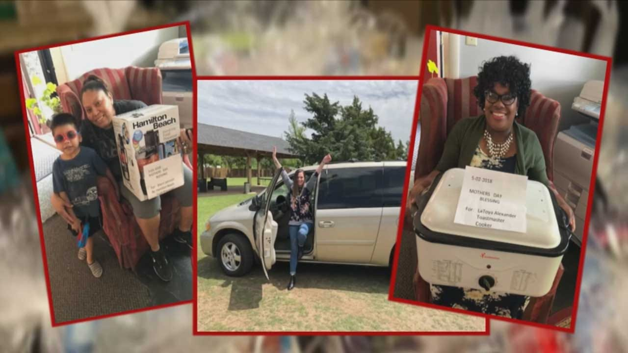 Single OKC Moms Get Help Celebrating Mother's Day