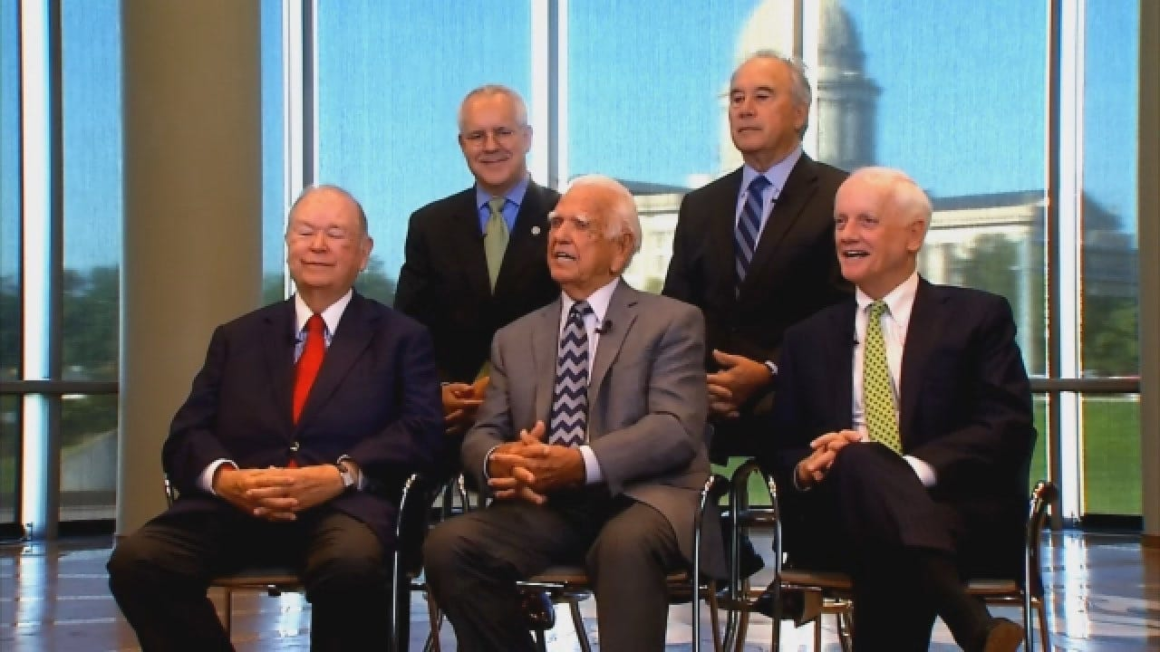 Former Oklahoma Governors Look Back At Their Toughest Challenges In Office
