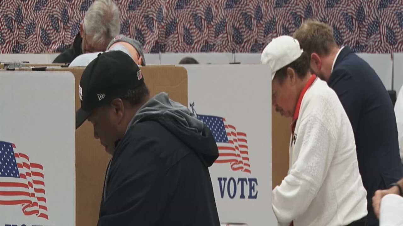 Thousands Of Oklahomans Hit The Polls As Early Voting Begins