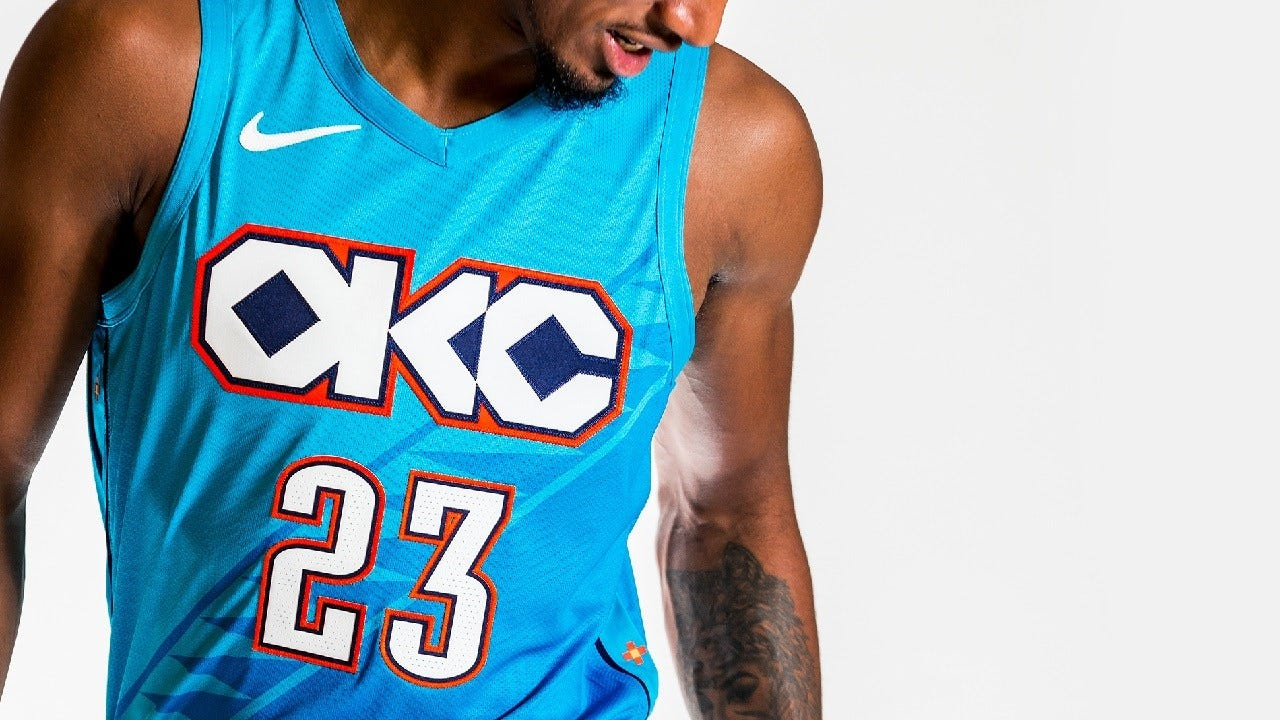 Thunder Unveils New Uniforms Honoring Native American Heritage