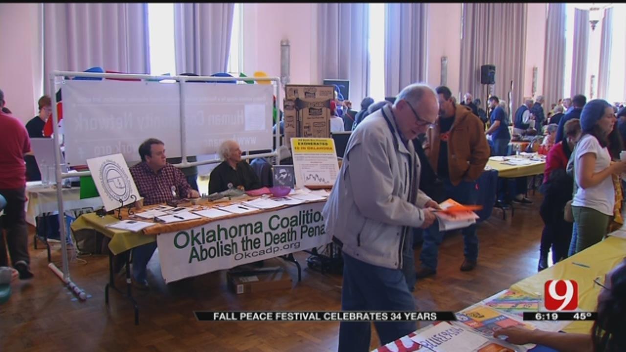 Fall Peace Festival Celebrates 34 Years At OKC Civic Center