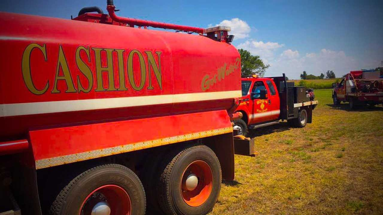 Agriculture Barn And All Livestock Destroyed In Fire At Cashion Public School