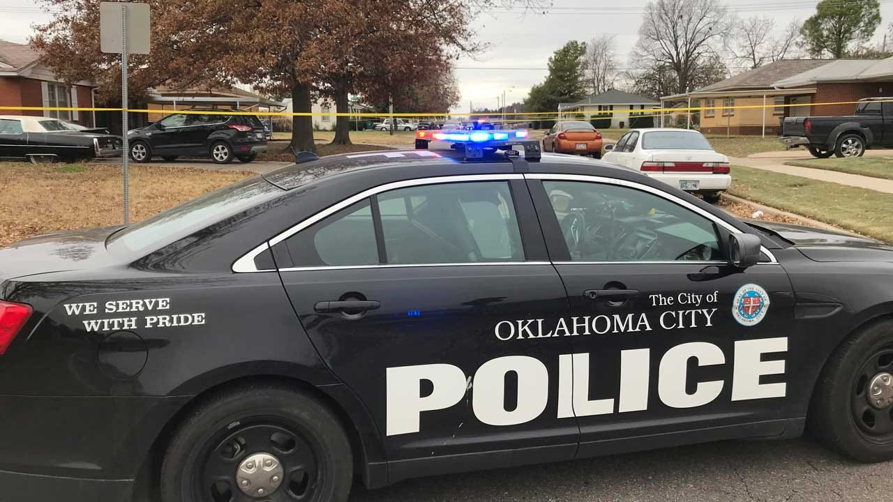 Emergency Crews Working Fatality Crash Involving Motorcycle In SW OKC