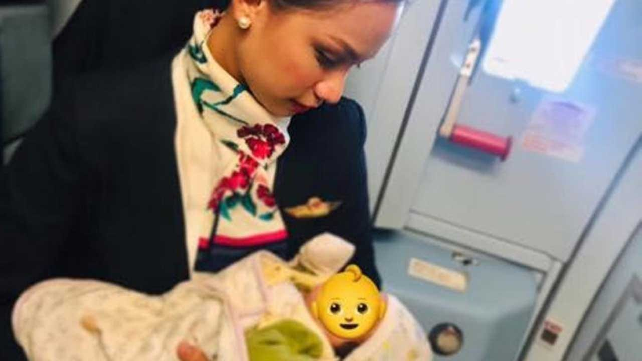 Flight Attendant Feeds Hungry Infant Mid-Flight After Mother Runs Out Of Formula