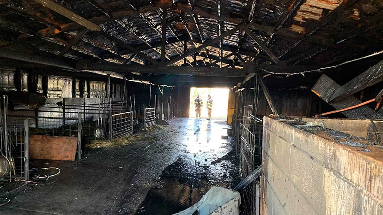 Community Steps Up After Fire Destroys Cashion Ag Student Barn
