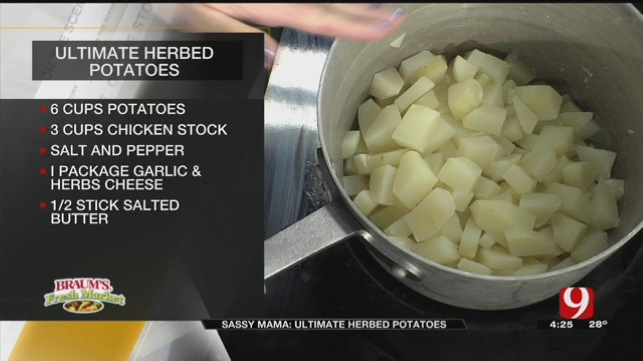 Ultimate Herbed Potatoes