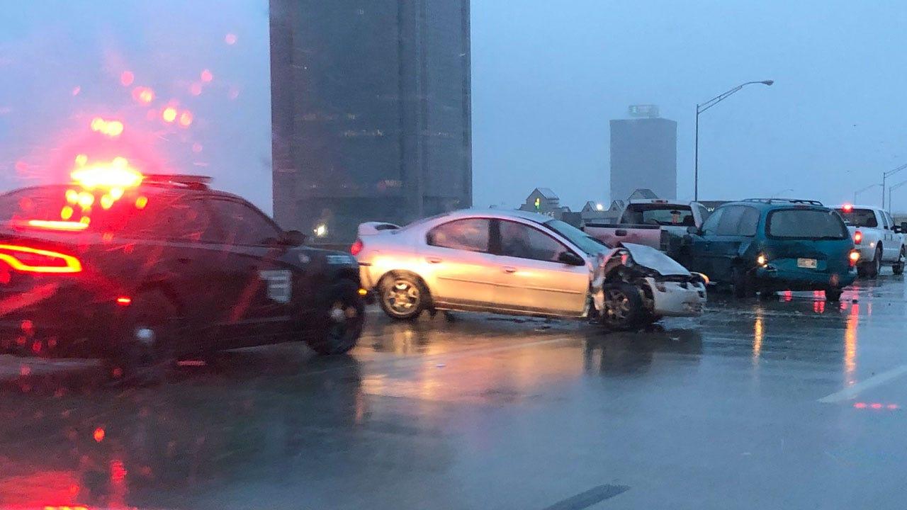 Winter Weather Road Conditions Updates Across Oklahoma