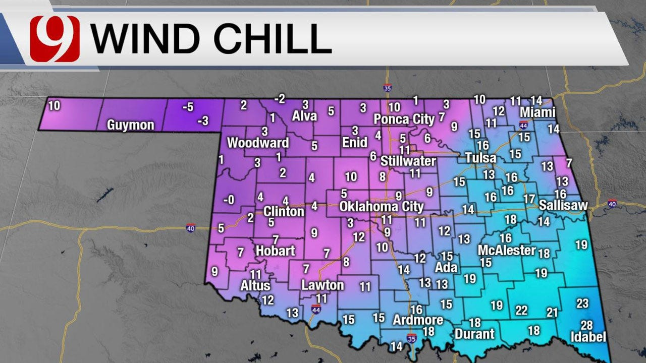Brutal Wind Chill Tuesday, Not Much Of A Warm-Up By Afternoon