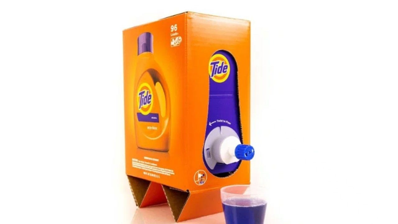 P&G To Start Delivering Tide In A Shoe Box