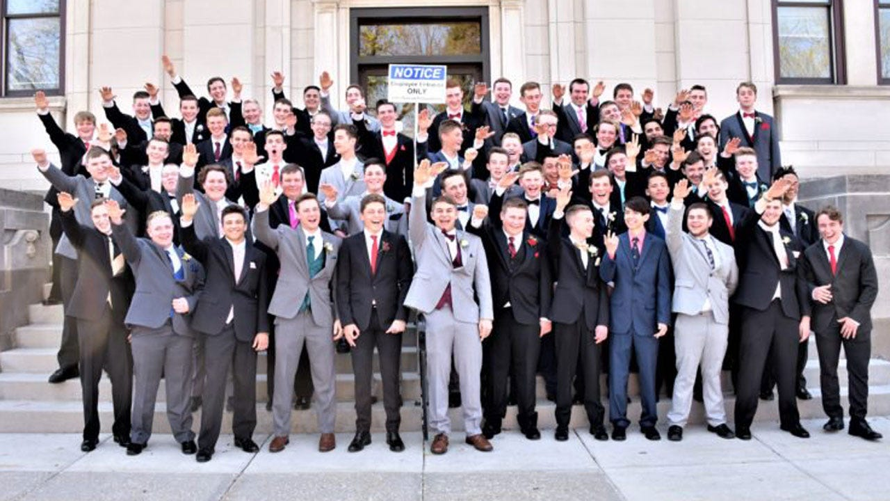 Wisconsin High School Students Appear To Make Nazi Salute In Prom Photo