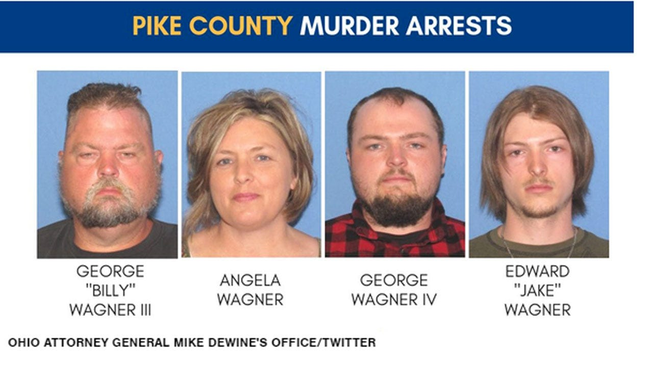 Family Of Four Arrested In Gruesome Slayings Of Eight People In Rural Ohio
