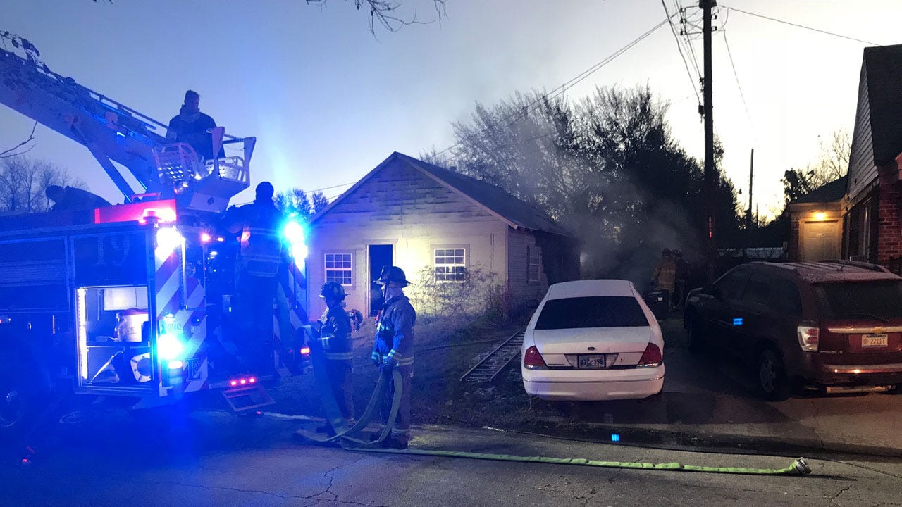 Firefighters Extinguish House Fire In SE OKC